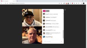 IG Live from desktop