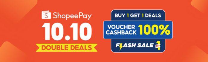 10.10 ShopeePay Double Deals