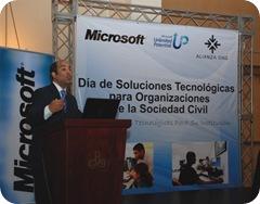 Jose Armando tavarez, Director del ITLA durante su exposición