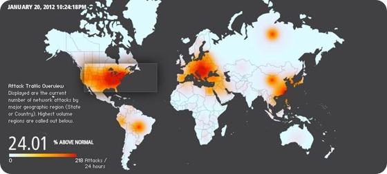 Ataques en las ultimas 24 horas