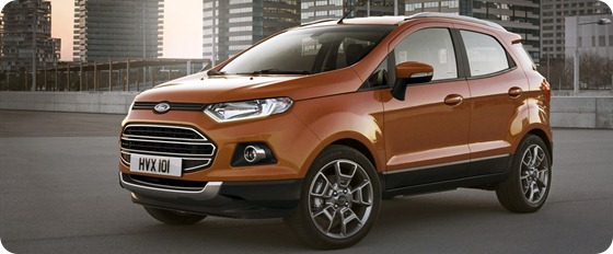 Ford Debuts All-new Ecosport SUV for Europe at Mobile World Congress