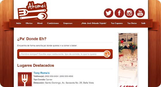 Akomei.com - Las mejores ofertas en bares y restaurantes de la ciudad(1)