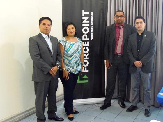 Jorge Cruz, Estela Cota, Luis Diego Mercado y Roberto Cruz