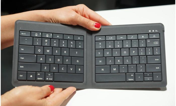 Microsoft Universal Foldable Bluetooth Keyboard Best Gifts