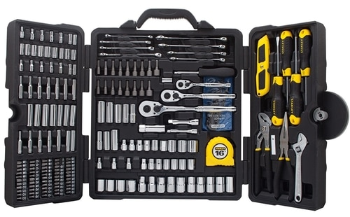 Stanley 210 Piece Tool Set Best Car Automotive Gift