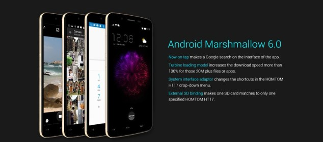 Homtom HT17 Hadir dengan Bodi 7.9mm dan Android 6 ww