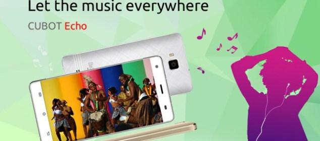 Cubot Echo: Smartphone Musik RAM 2GB Diumumkan dfs