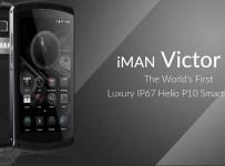 Harga & Spesifikasi iMan Victor: Smartphone Mewah Pertama dengan IP67 dan Helio P10 b