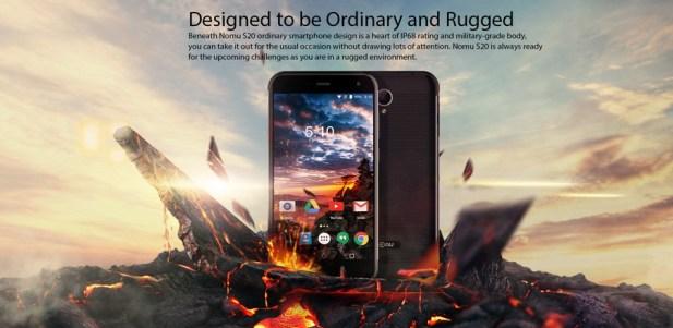 Spesifikasi Nomu S20: Smartphone Keren dengan Rating IP68 d