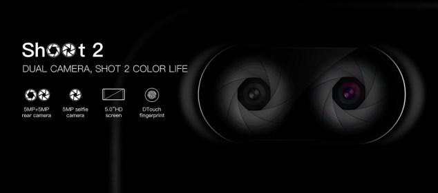Doogee Shoot 2: Smartphone Kamera Belakang Ganda Termurah 5