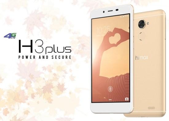 Himax H3 Plus dengan RAM 3GB dan Fingerprint: Harga dan Spesifikasi 3