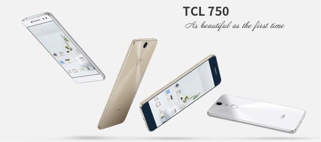 Harga dan Spesifikasi TCL 750: Layar 5.2 Inci dan Helio P10 1