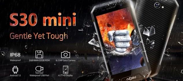 Nomu S30 Mini resmi Hadir: Smartphone Rugged IP68 Layar 4.7 inci 5