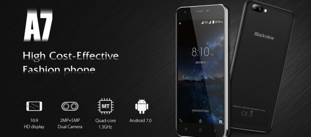 Blackview A7: Smarphone Kamera Ganda Termurah Cuma 650 Ribu 5