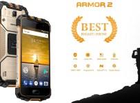 Ulefone Armor 2: Smartphone IP68 RAM 6GB dan Batere 4700 mAh 3