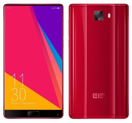Elephone S8 red limited edition (1)