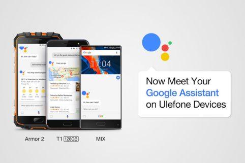 Google Assistant Hadir di Smartphone Ulefone f