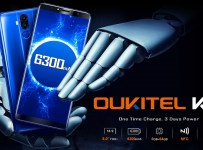 Oukitel K6: Phablet 6 inci dengan Baterai 6300 mAh, NFC dan Face ID 1