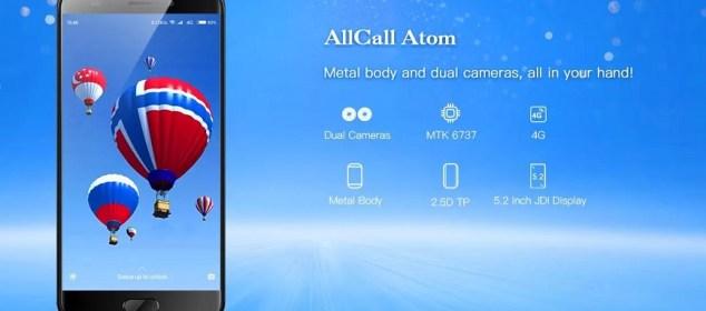 AllCall Atom: Smartphone Keren Layar 5.2 inci dan Bodi Metal 3