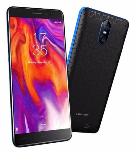 Homtom S12: Smartphone Stylish 650 Ribuan dengan Layar 5 inci 18:9 3