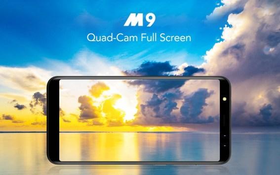 Leagoo M9: Phablet Layar 18:9, RAM 2GB, 4 Kamera, Harga 1 Juta Pas 1