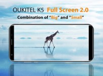 Oukitel K5 Phablet Layar 18:9 Kamera Ganda: Harga dan Spesifikasi 3