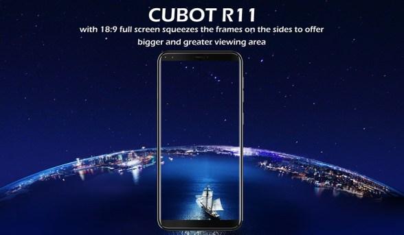 Cubot R11 dengan Layar 5.5 inci 18:9: Harga dan Spesifikasi 3