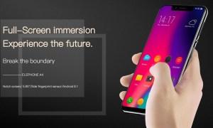 Elephone A4: Phablet Layar Notch 5.85 inci dengan Fingerprint Samping 5