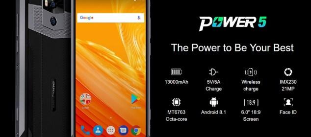 Ulefone Power 5 dengan RAM 6GB dan Baterai 13000 mAh: Eksis Seminggu!! 5