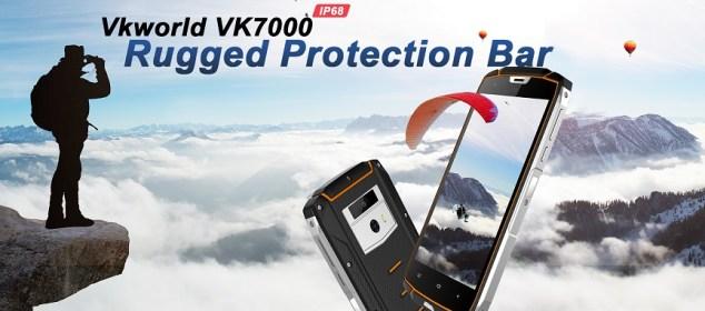 Vkworld VK7000: Smartphone Rugged Wireless Charging Murah dengan RAM 4GB 1