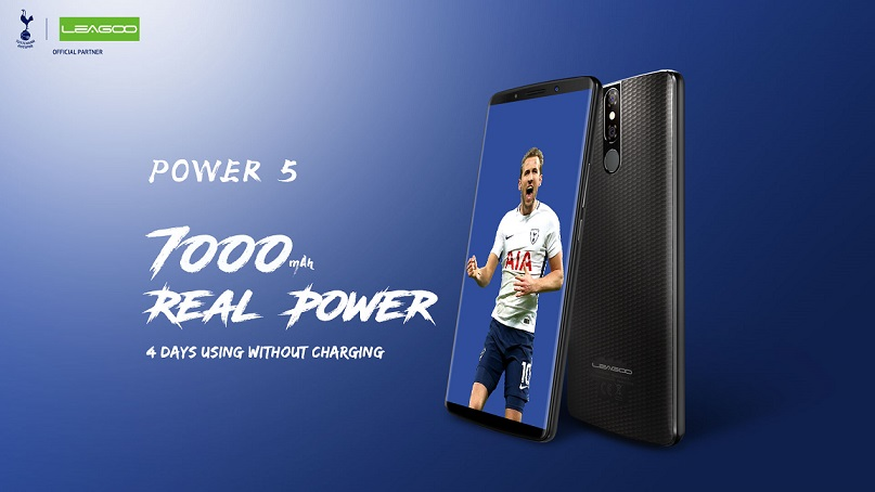 Leagoo Power 5: Phablet Murah Baterai 7000 mAh, RAM 6GB, Wireless Charging