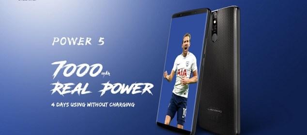 Leagoo Power 5: Phablet Murah Baterai 7000 mAh, RAM 6GB, Wireless Charging 5