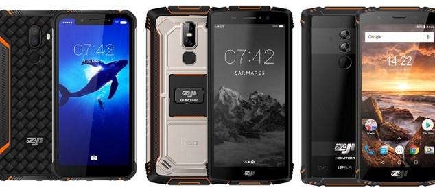 Homtom Zoji siapkan 3 Smartphone Rugged Baru: Ada Notch-nya juga 3
