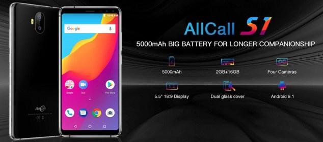 AllCall S1 dirilis: RAM 2GB, 4 Kamera, Baterai 5000 mAh, Harga 1 Juta!! 1
