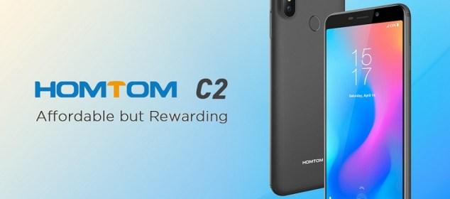 Homtom C2 dirilis dengan 4G LTE, RAM 2GB, Harga 1,2 Juta 1