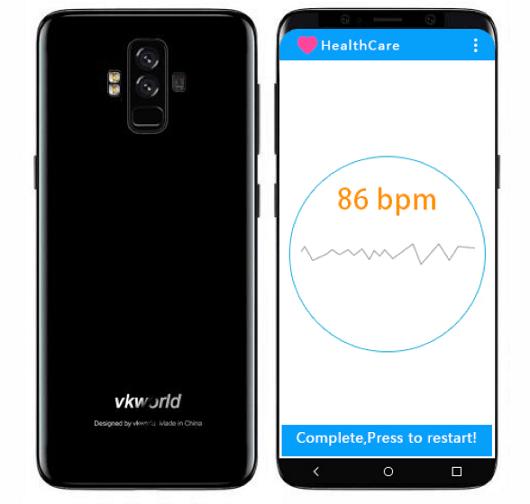 Foto Nyata Vkworld S9: Punya 4 Kamera, Wireless Charging, Sensor Jantung 3