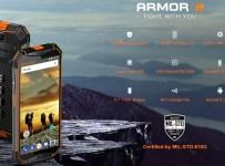 Ulefone Armor 3: Phablet Rugged IP69K, Baterai 10300 mAh dan NFC 1