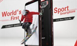 Smartphone Olahraga Cubot Quest diumumkan dengan Android Pie 1