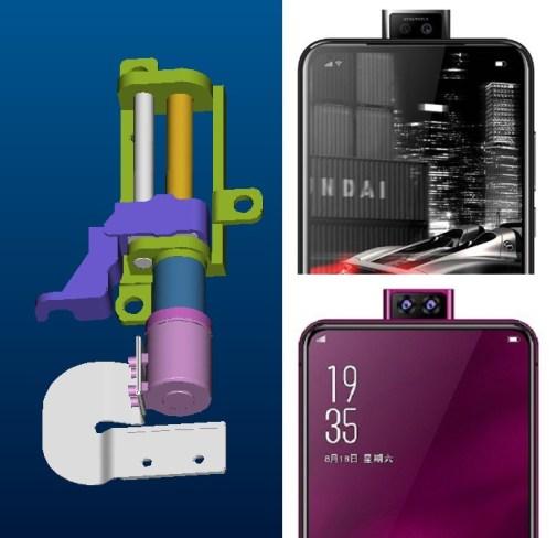Seperti ini Desain Kamera Pop-up di Elephone U2 dan Elephone PX 4