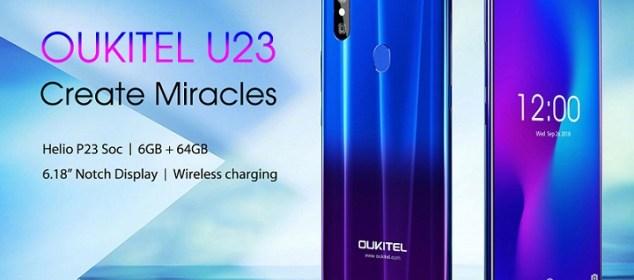 Oukitel U23 dirilis: Layar Poni 6.18 inci, RAM 6GB dan Warna Gradien 1