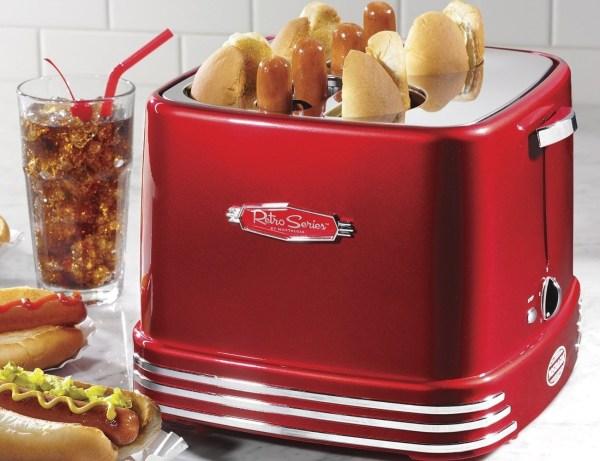 Retro Series Pop Hot Dog Toaster Gadget Flow