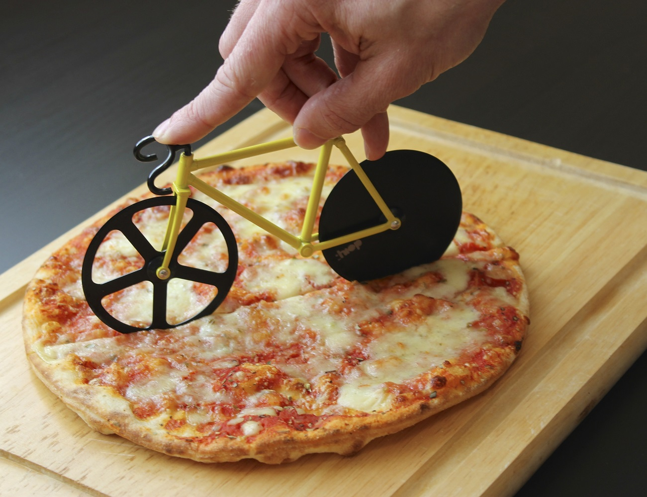 Fixie Bike Pizza Cutter  Gadget Flow