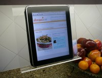 Kitchen iPad Holder  Gadget Flow