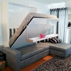 Big Living Room Couches Rustic Furniture Float Murphysofa Sectional Wall Bed » Gadget Flow