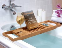Bamboo Bathtub Caddy From Bambsi By Belmint  Gadget Flow