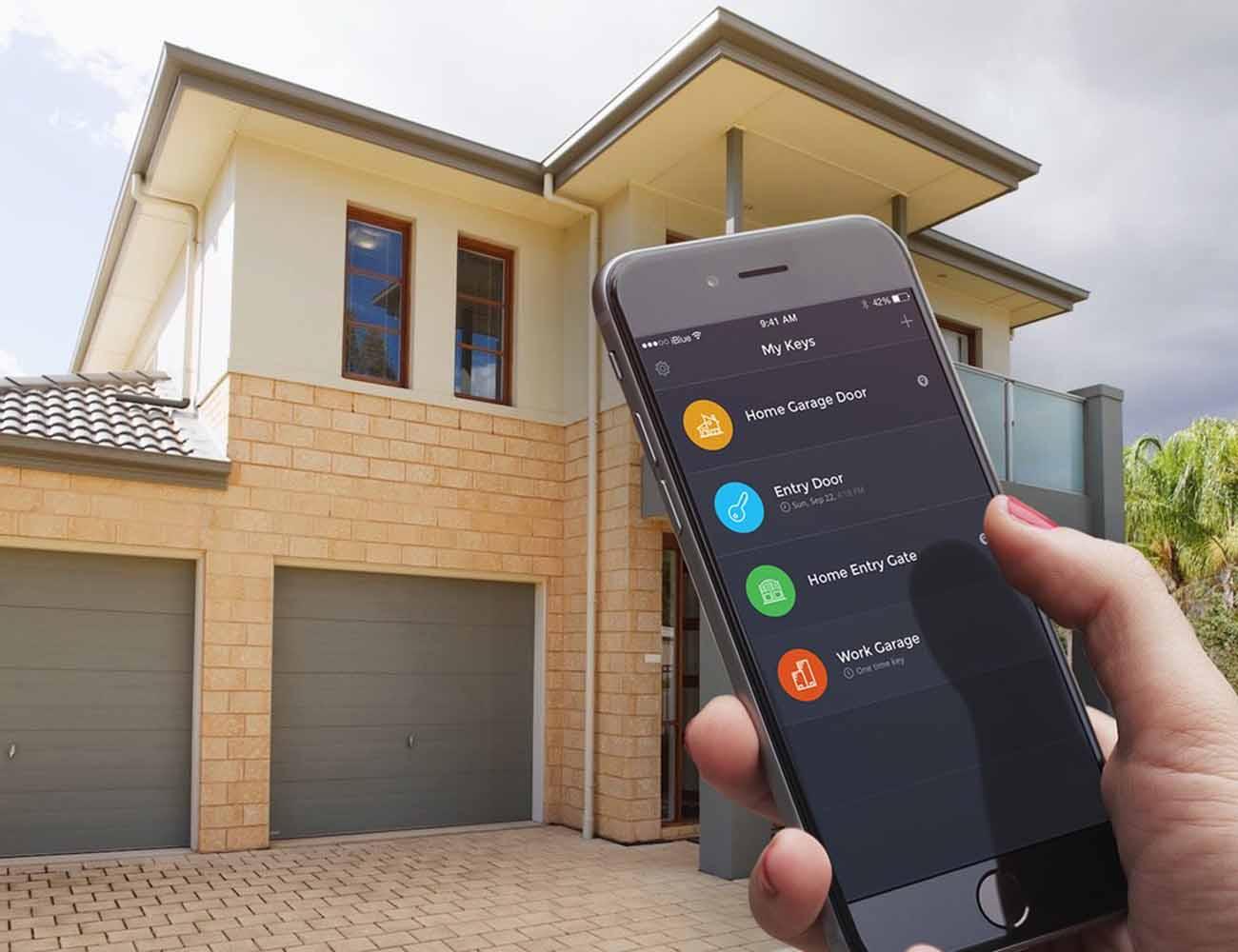 iBlue Smart Gate Garage Opener  Gadget Flow