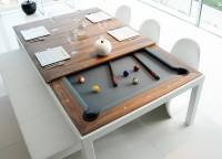 Fusion Pool Table And Dining Table  Gadget Flow