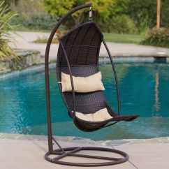 Swing Chair Name Cover Depot Reviews Brown Wicker Hanging  Gadget Flow