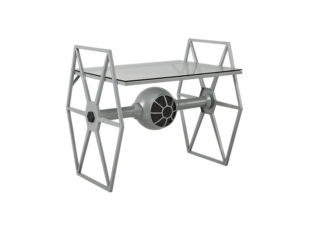 Star Wars Tie Fighter Gray Desk  Gadget Flow