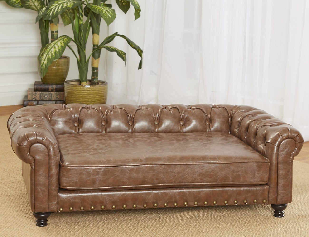 leather pet sofa living room sofas and chairs dog the ultimate revelation of